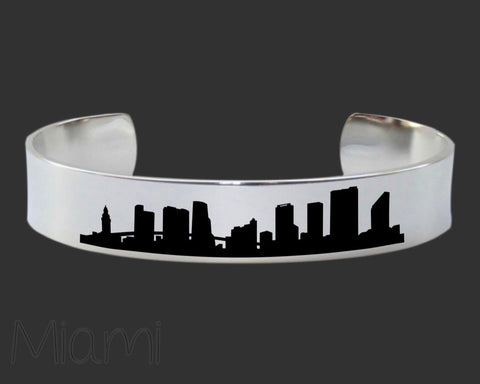 Miami Skyline Cityscape Jewelry