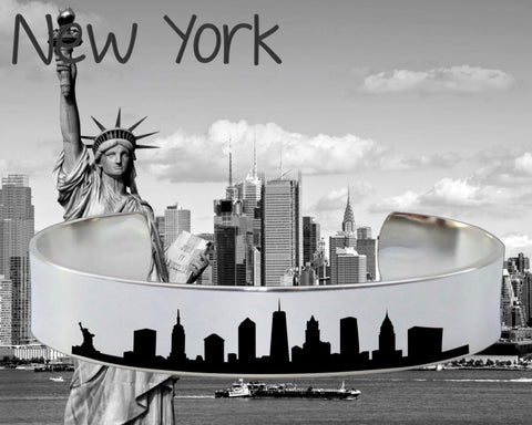 New York Skyline Cityscape Jewelry
