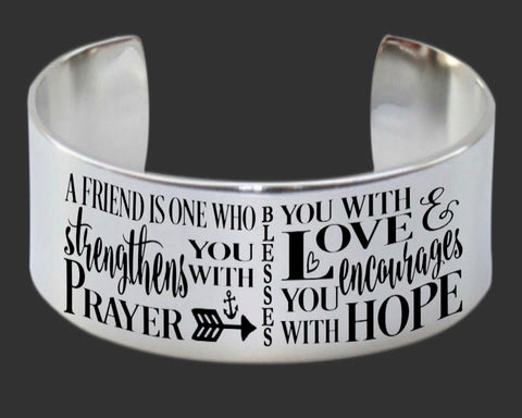 A Friend Is One Bracelet | Friend Gift
