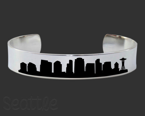 Seattle Skyline Cityscape Bracelet