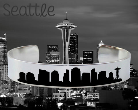 Seattle Skyline Cityscape Jewelry
