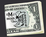 Head Over Boots Personalized Money Clip