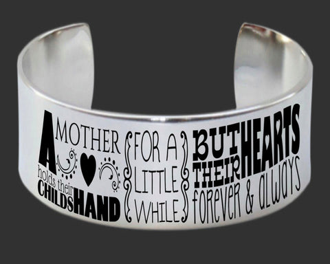 A Mother Holds Bracelet | Mother Gift