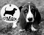 Basset Hound Dog Personalized Jewelry