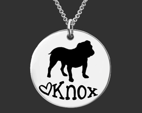 Bulldog Personalized Jewelry