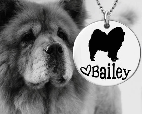 Chow Chow Personalized Jewelry