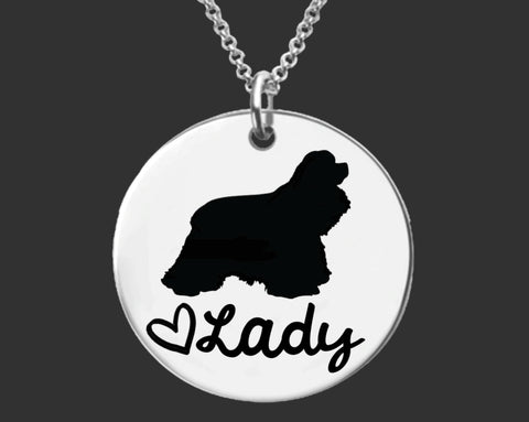 Cocker Spaniel Personalized Jewelry