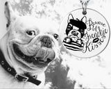 Beware of Frenchie Kisses | French Bulldog Jewelry