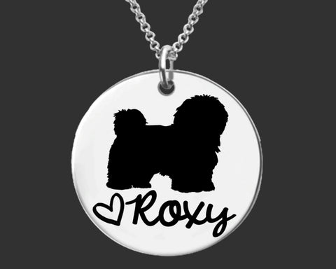 Havanese Personalized Necklace