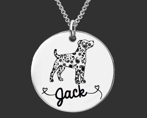 Jack Russell Terrier Personalized Jewelry
