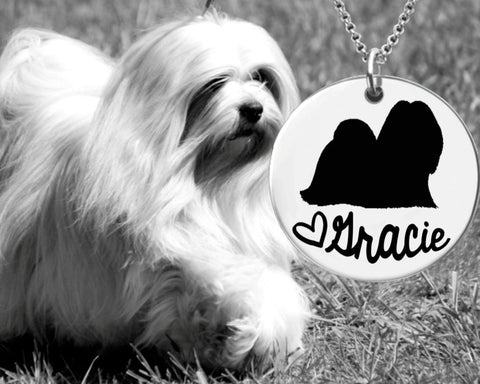 Lhasa Apsos Personalized Jewelry