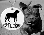 Mastiff Personalized Necklace