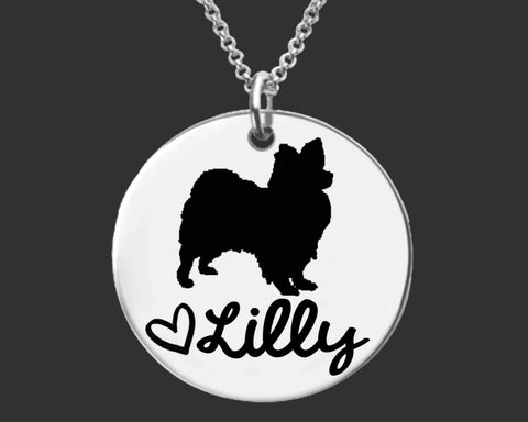 Papillon Personalized Necklace