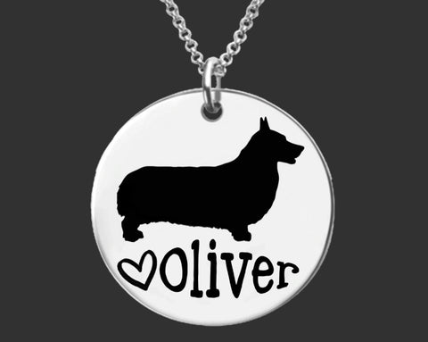 Corgi Personalized Jewelry