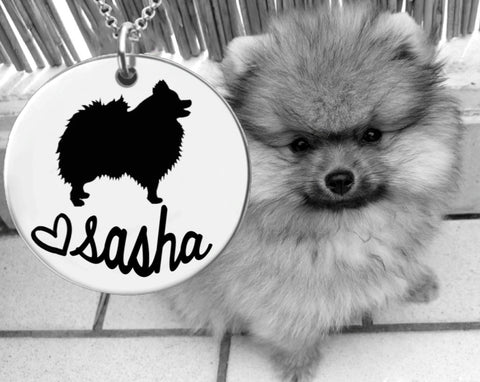 Pomeranian Personalized Jewelry