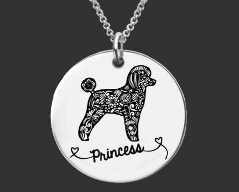 Poodle Personalized Jewelry