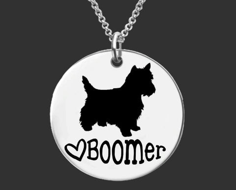 West Highland White Terrier Personalized Necklace | Westie