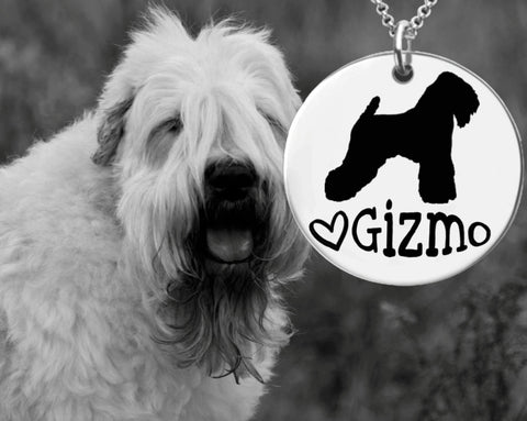Wheaten Terrier Personalized Jewelry