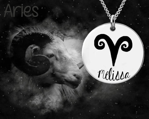 Aries Zodiac Jewelry