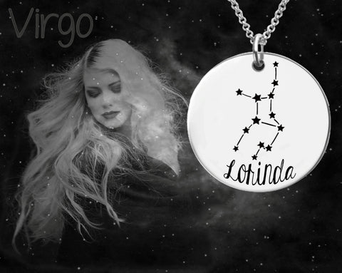Virgo Constellation | Zodiac Jewelry