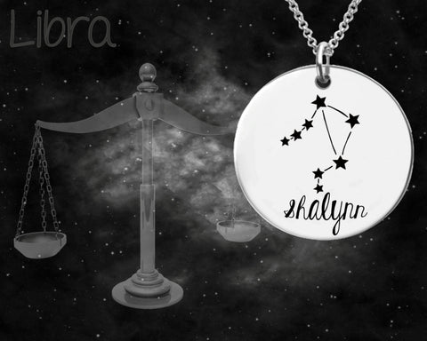 Libra Constellation Zodiac Jewelry