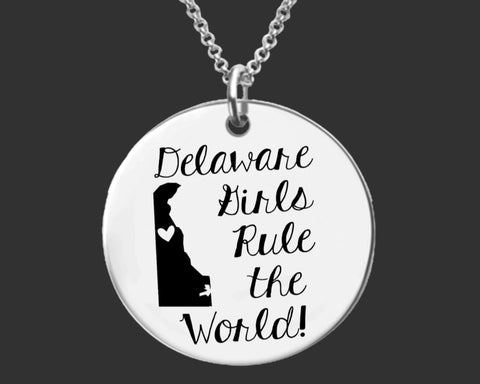 Delaware Girls Necklace | Delaware State
