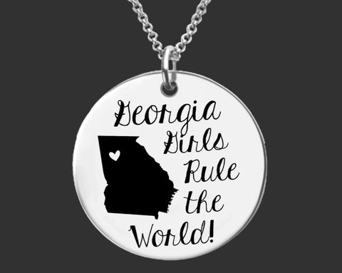 Georgia Girls Necklace | Georgia State