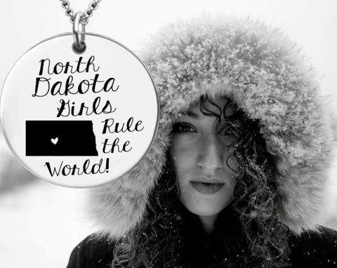 North Dakota Girls Necklace | North Dakota State