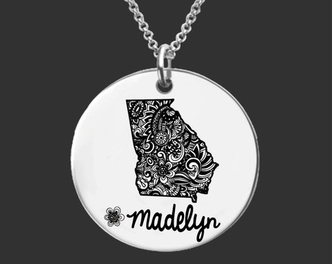 Georgia Necklace | Georgia State