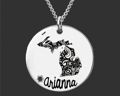 Michigan Personalized Jewelry | Michigan State