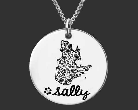 Quebec Personalized Jewelry | Quebec Canada