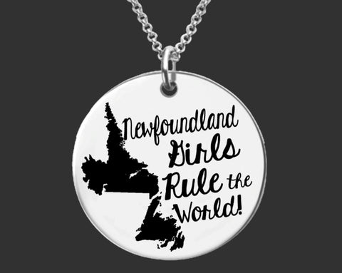 Newfoundland Girls Necklace | Newfoundland Canada