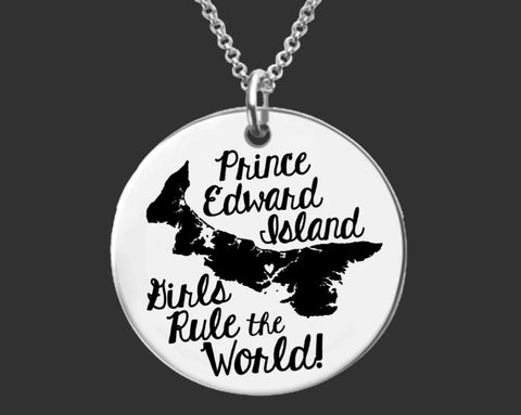 Prince Edward Island Girls Necklace | Prince Edward Island Canada