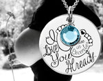 I love You Already Necklace | Maternity Necklace