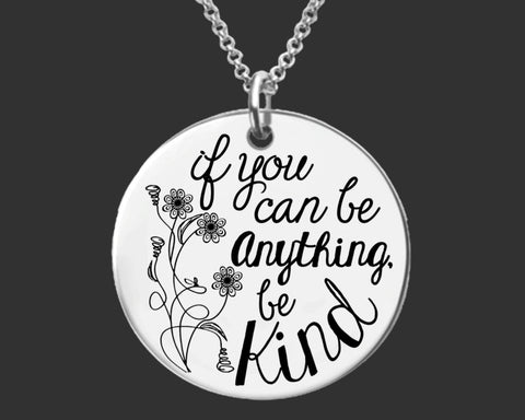 Be Kind Necklace | Inspirational Jewelry