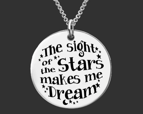 The Sight of the Stars Necklace