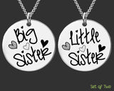 Big Sister Little Sister Necklace Set