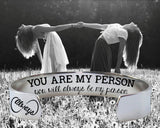 You Are My Person Bracelet