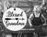 Blessed Grandma Necklace | Grandma Gift