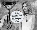Design Your Own Custom Personalized Leather Choker