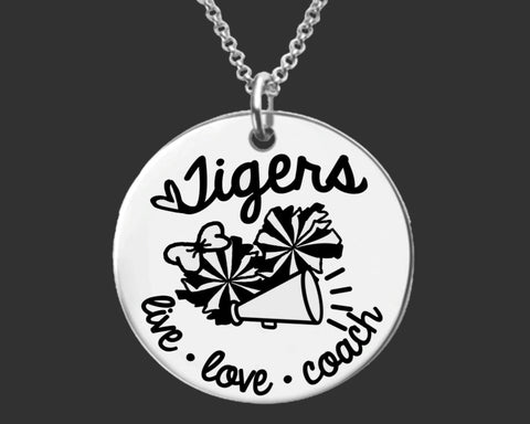 Cheer Coach Personalized Necklace | Gift for Coach