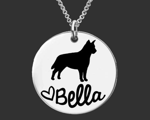 Australian Cattle Dog Personalized Jewelry
