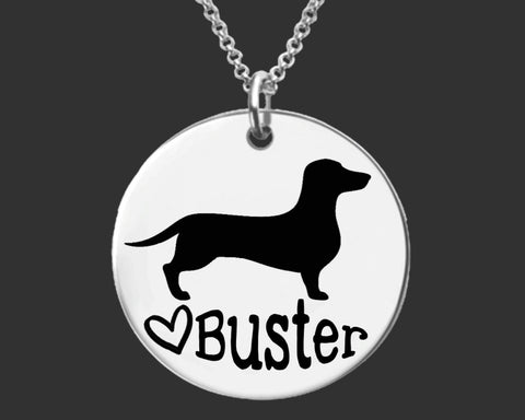 Dachshund Personalized Jewelry