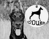 Doberman Pinscher Personalized Jewelry