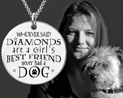 A Girl's Best Friend Necklace