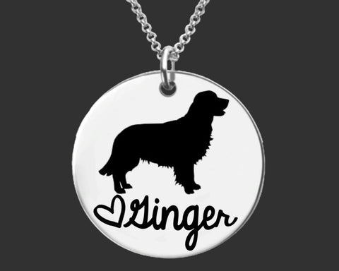 Golden Retriever Personalized Jewelry