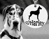 Great Dane Personalized Jewelry