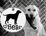 Labrador Personalized Necklace