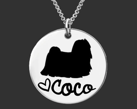 Maltese Personalized Necklace