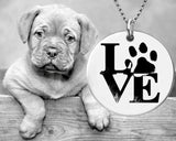 Puppy Love Dog Paw Necklace